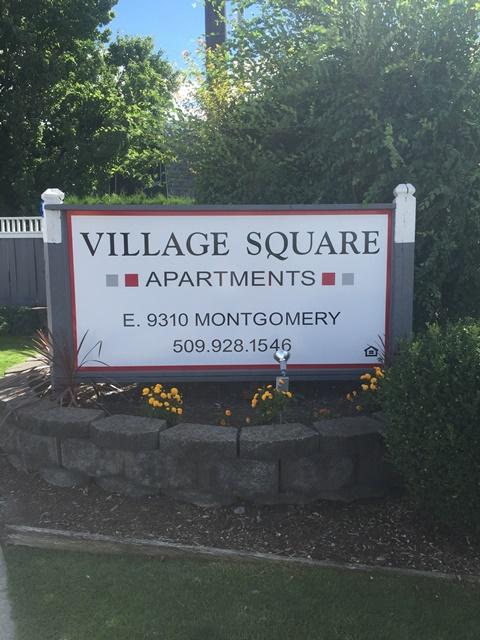 Village Square Sign